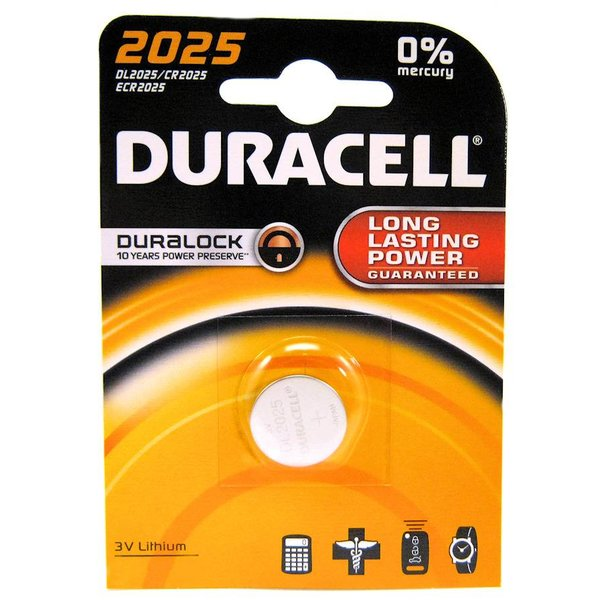 Duracell 3V knoopcel lithium 2025