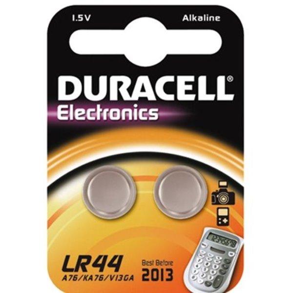 Duracell LR44 1,5V knoopcel (2 stuks)