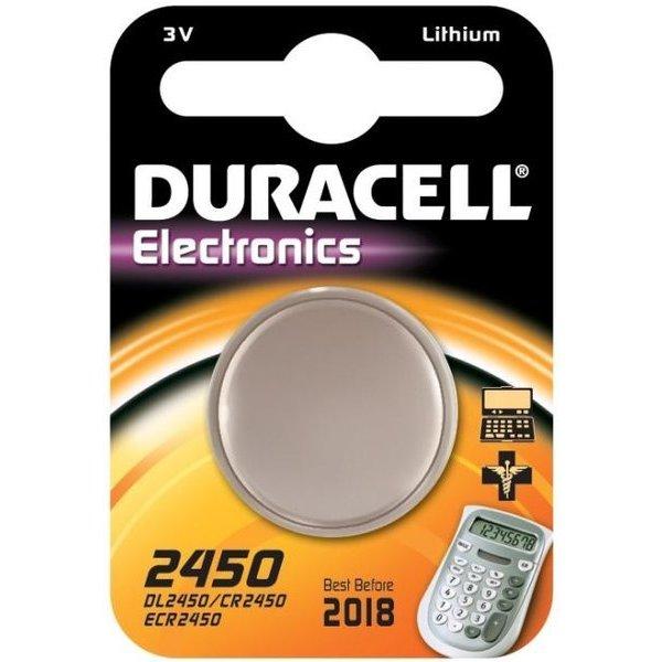 Duracell 3V knoopcel 2450
