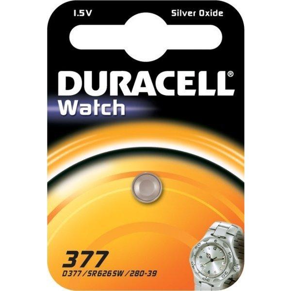 Duracell 377 1,5V knoopcel