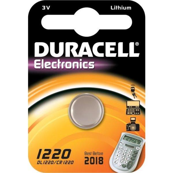 Duracell 3V knoopcel 1220