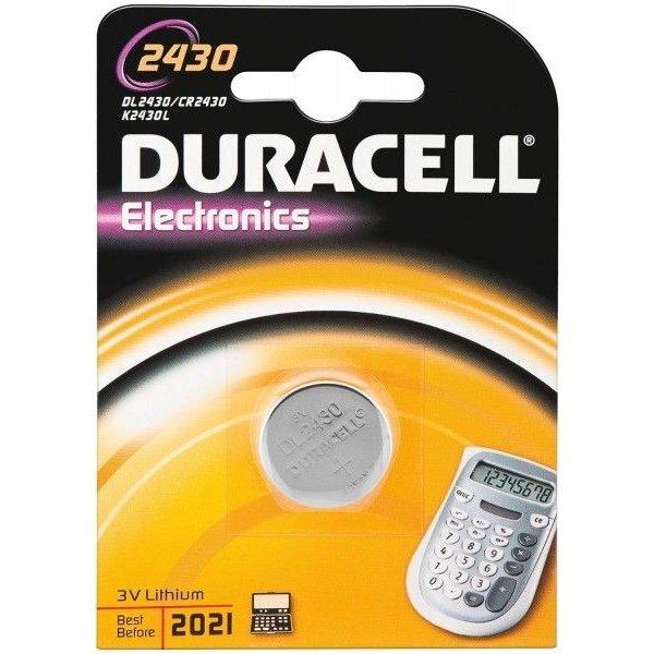Duracell 2430 lithium 3V blister