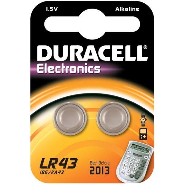 Duracell LR43 1,5V knoopcel
