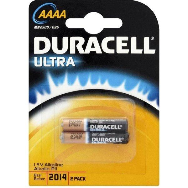 Duracell ultra MX2500 AAAA