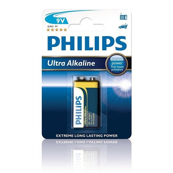 Philips Ultra alkaline 9V