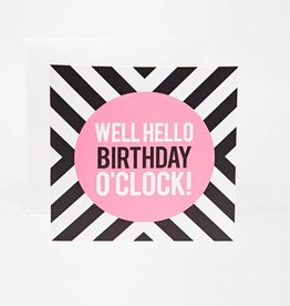 Commodo Birthday clock