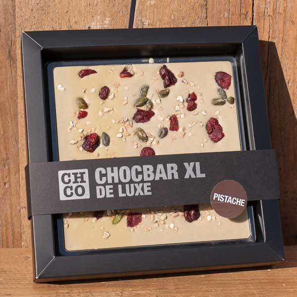 PISTACHE&CRANBERRY CHOCBAR XL DELUXE