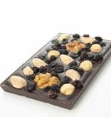 Tablet pure chocolade met studentenhaver