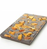 Tablet pure chocolade met mango en chilipeper