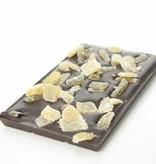 Tablet pure chocolade met gember en citroen