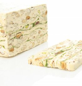 Soft nougat with pistachio