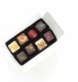 Assortment of 14 handmade chocolates