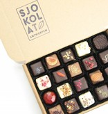 20 assorted chocolates in presentation box