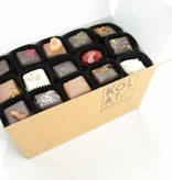 Assortment of 99 handmade chocolates