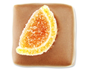 Hazelnoot mousse en appelsinaas