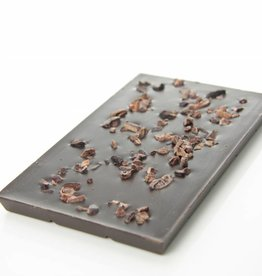 Dark Chocolate 90% cocoa with Cocoa Nibs