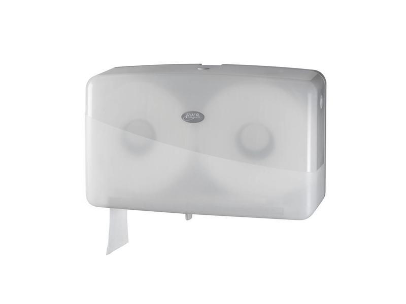 Eigen merk Dispenser Toiletpapier jumbo mini, wit