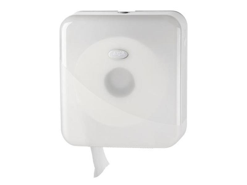 Eigen merk Dispenser Toiletpapier jumbo maxi, wit