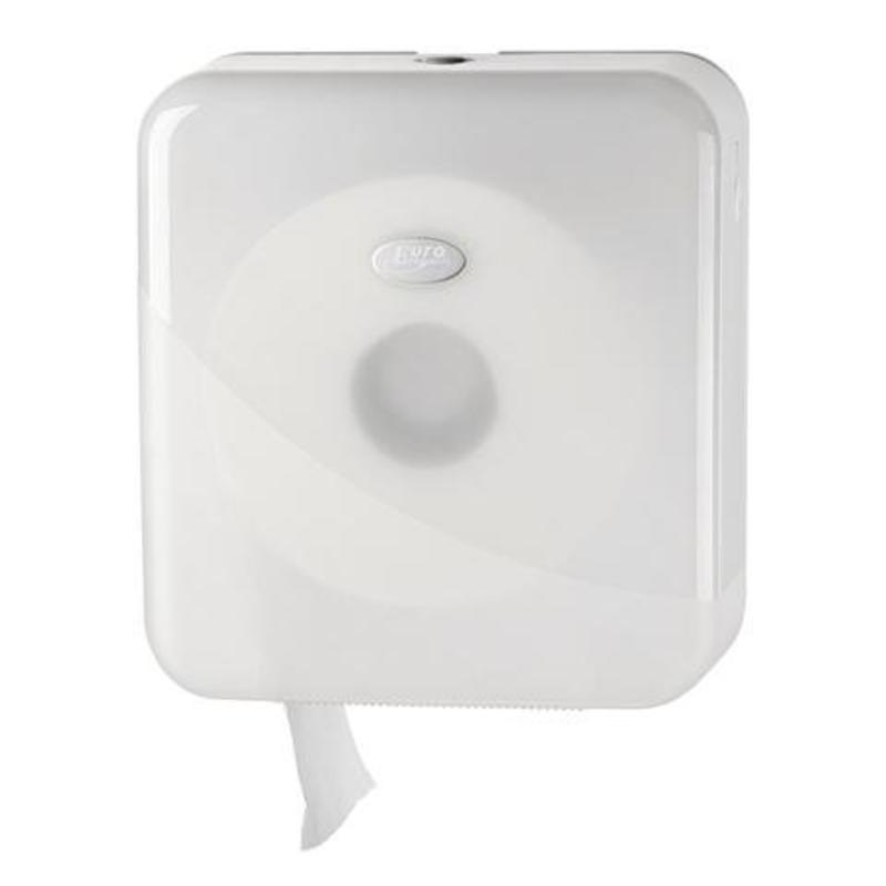 Dispenser Toiletpapier jumbo maxi, wit