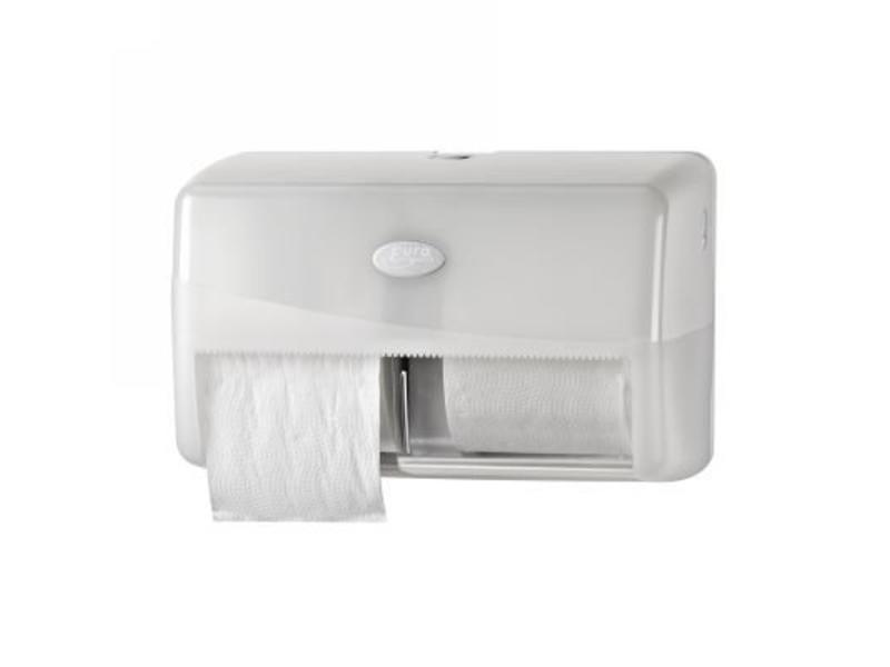 Eigen merk Dispenser Toiletrol standaard DUO, wit
