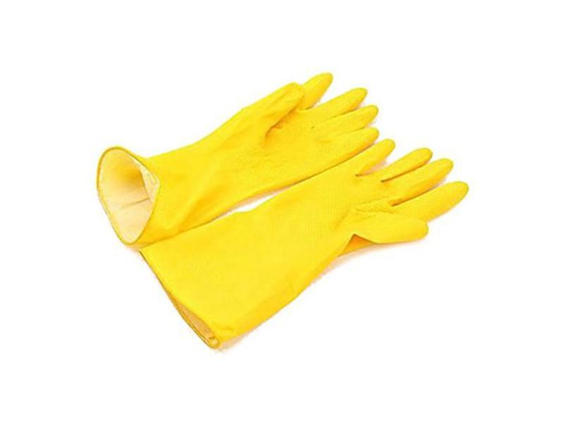 Arcora Handschoen latex, geel, maat M