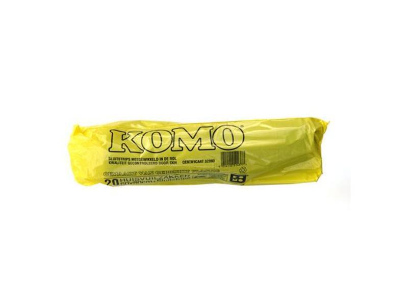 Eigen merk Huisvuilniszakken Kivo Komo 60x80cm, T50