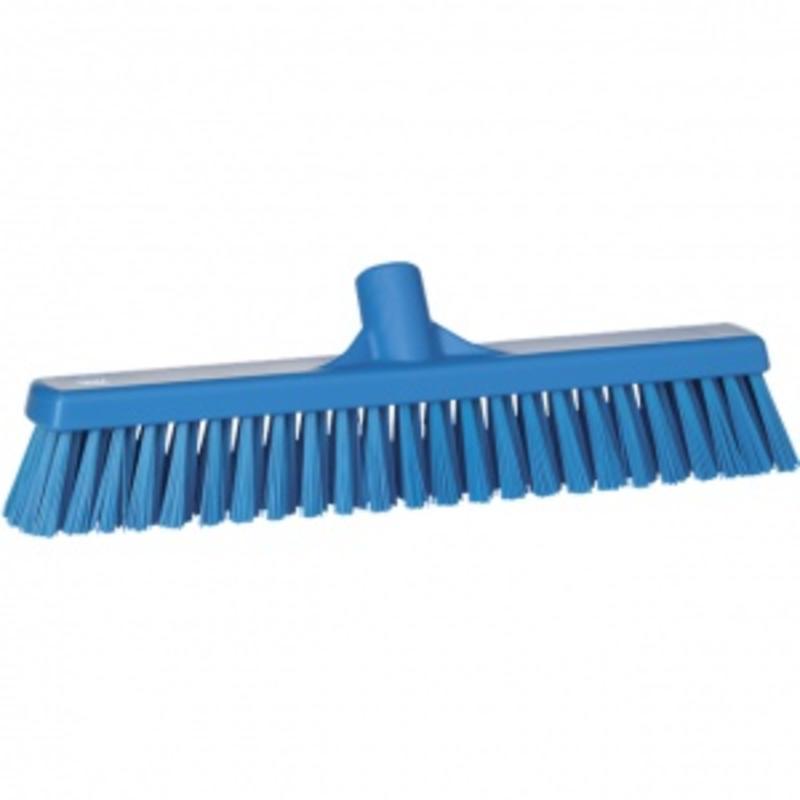 Vikan, Combi-veger, polypropyleen vezels, 410x120x90mm, blauw