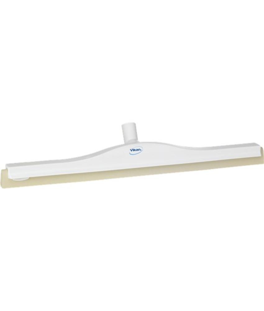 Klassieke vloertrekker 600mm, flexibele nek, polypropyleen, wit