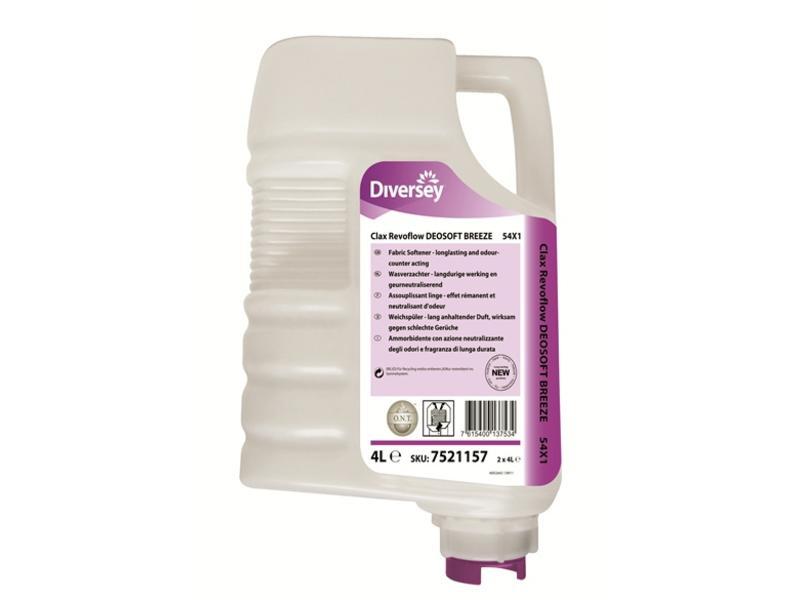Johnson Diversey Clax Revoflow DEOSOFT BREEZE 54X1 - 4L