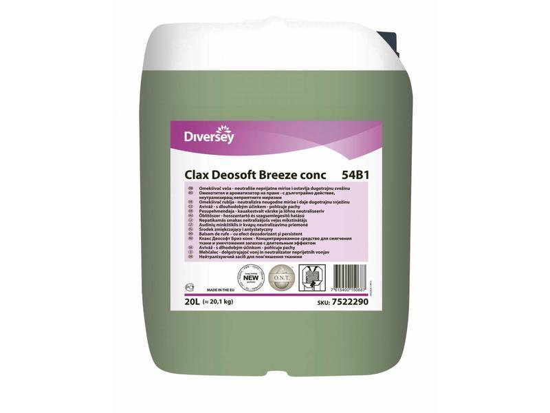 Johnson Diversey Clax DeoSoft BREEZE conc 54B1 - 20L