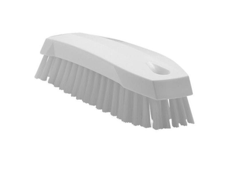 Vikan Vikan Kleine werkborstel polyester vezels, medium 165x50x45mm wit