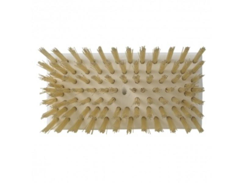 Vikan Vikan Kleine schrobber, hittebestendige vezels, 150x65x55mm wit