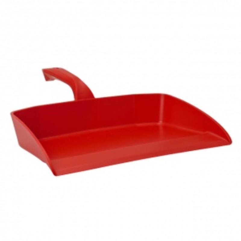Vikan Ergonomisch stofblik, 330x295x100mm, rood