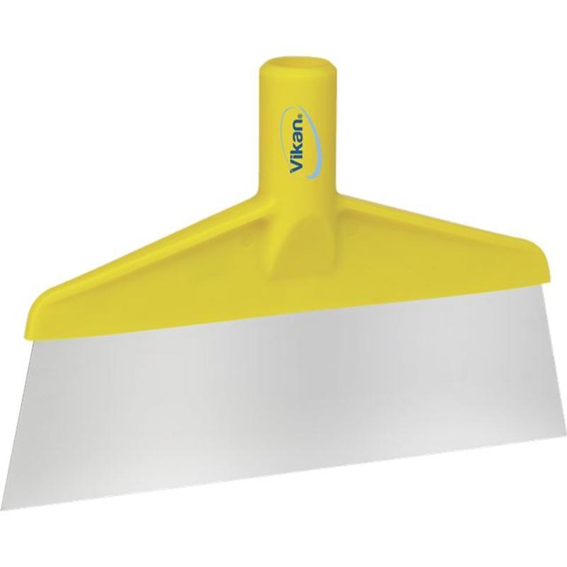 Vikan Vloer- of tafelschraper, 260x30x175mm, geel