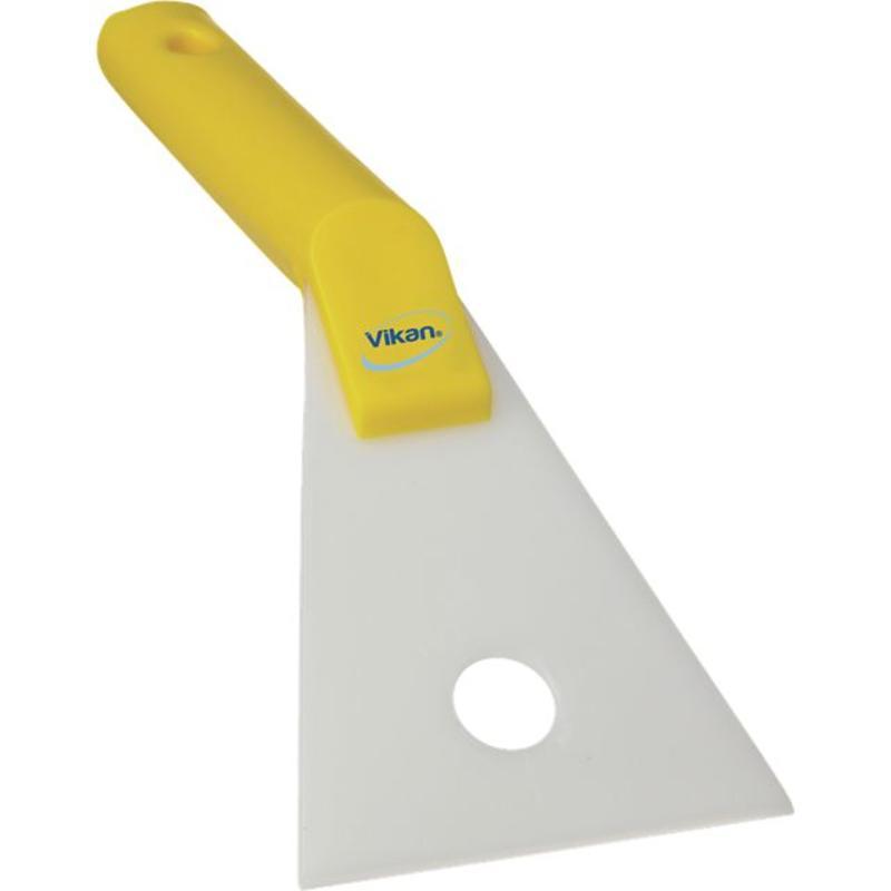 Vikan Nylon handschraper, 105x60x240mm, geel