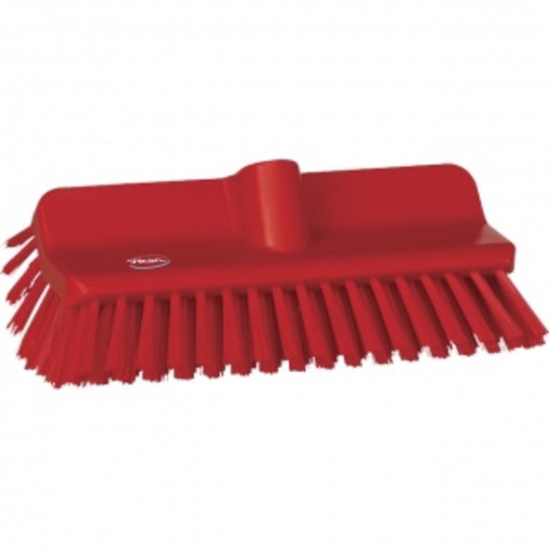 Vikan, Hoekschrobber hard, 265x100x150mm, rood