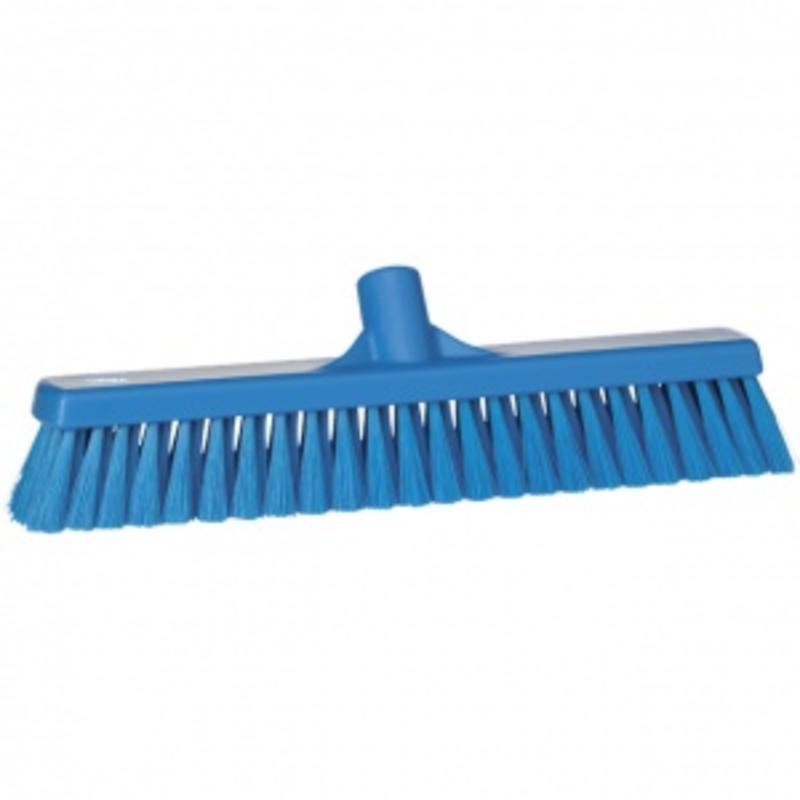 Vikan, Zachte veger, polyester vezels, 43x130x65mm blauw