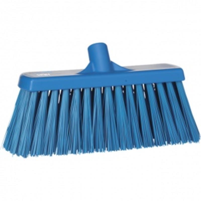 Vikan, Bezem, hard, 330x170x100mm, blauw