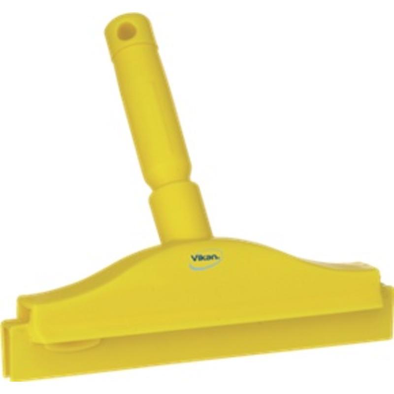 Vikan, Full colour hygiëne handtrekker, vaste nek 250x230x45mm, geel