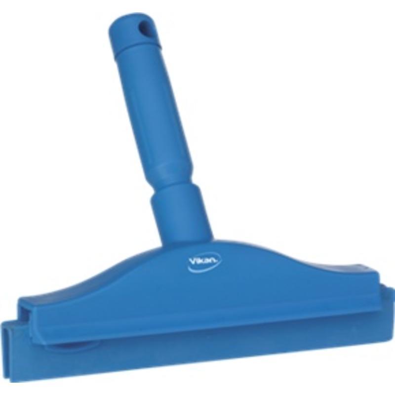 Vikan, Full colour hygiëne handtrekker, vaste nek 250x230x45mm, blauw