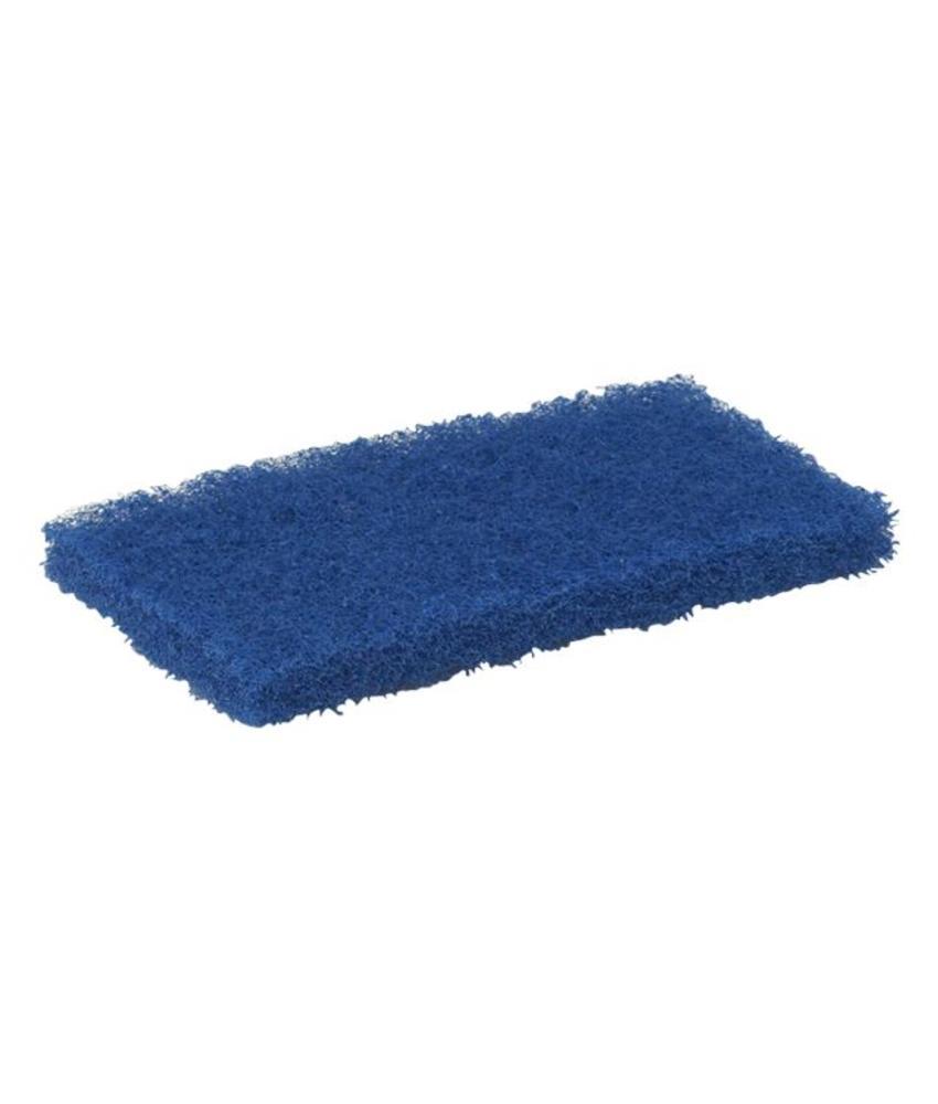 Vikan Schuurpad, medium 245x125x30mm, blauw