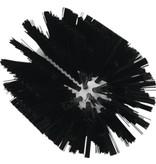 Vikan Vikan Pijpborstel, steelmodel, ø103 mm, medium, zwart