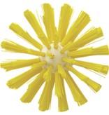 Vikan Vikan Pijpborstel, steelmodel, ø103 mm, medium, geel