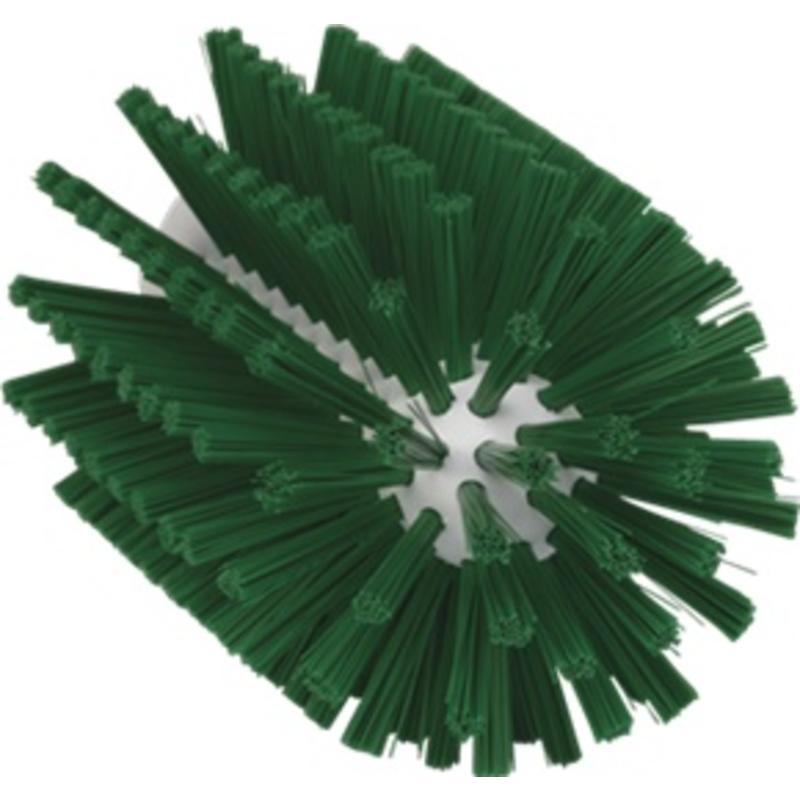 Vikan Pijpborstel, steelmodel, ø90 mm, medium, groen