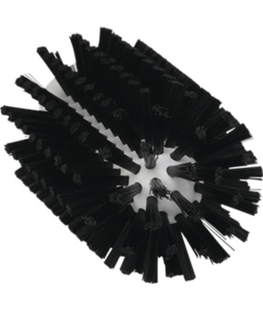 Vikan Pijpborstel, steelmodel, ø77 mm, medium, zwart