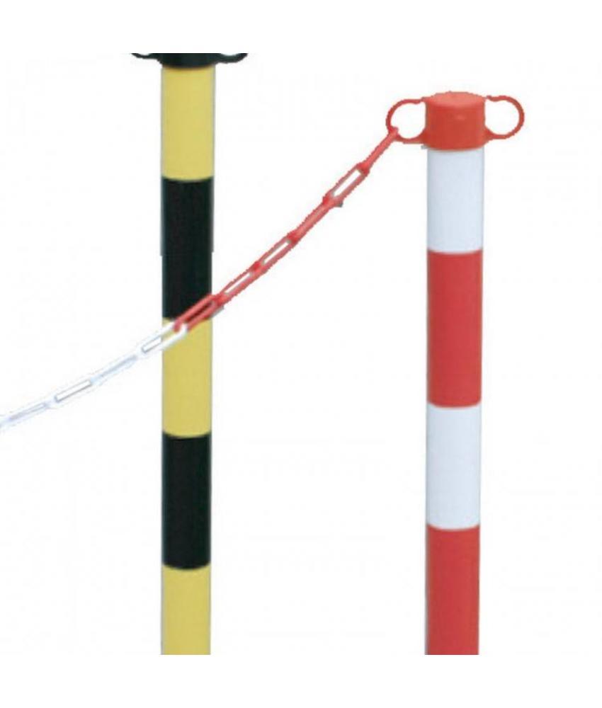 PVC Kettingpaaltje met voet 1,8 Kg