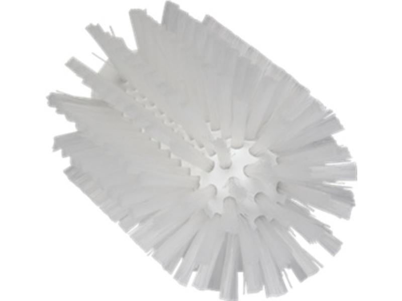 Vikan Vikan Pijpborstel, steelmodel, ø77 mm, medium, wit