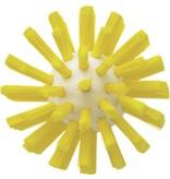 Vikan Vikan Pijpborstel, steelmodel, ø63 mm, hard, geel