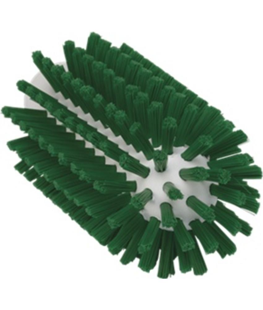 Vikan Pijpborstel, steelmodel, ø63 mm, hard, groen
