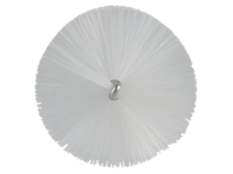 Vikan Vikan Pijpenborstel met handvat, 60 mm, medium, wit